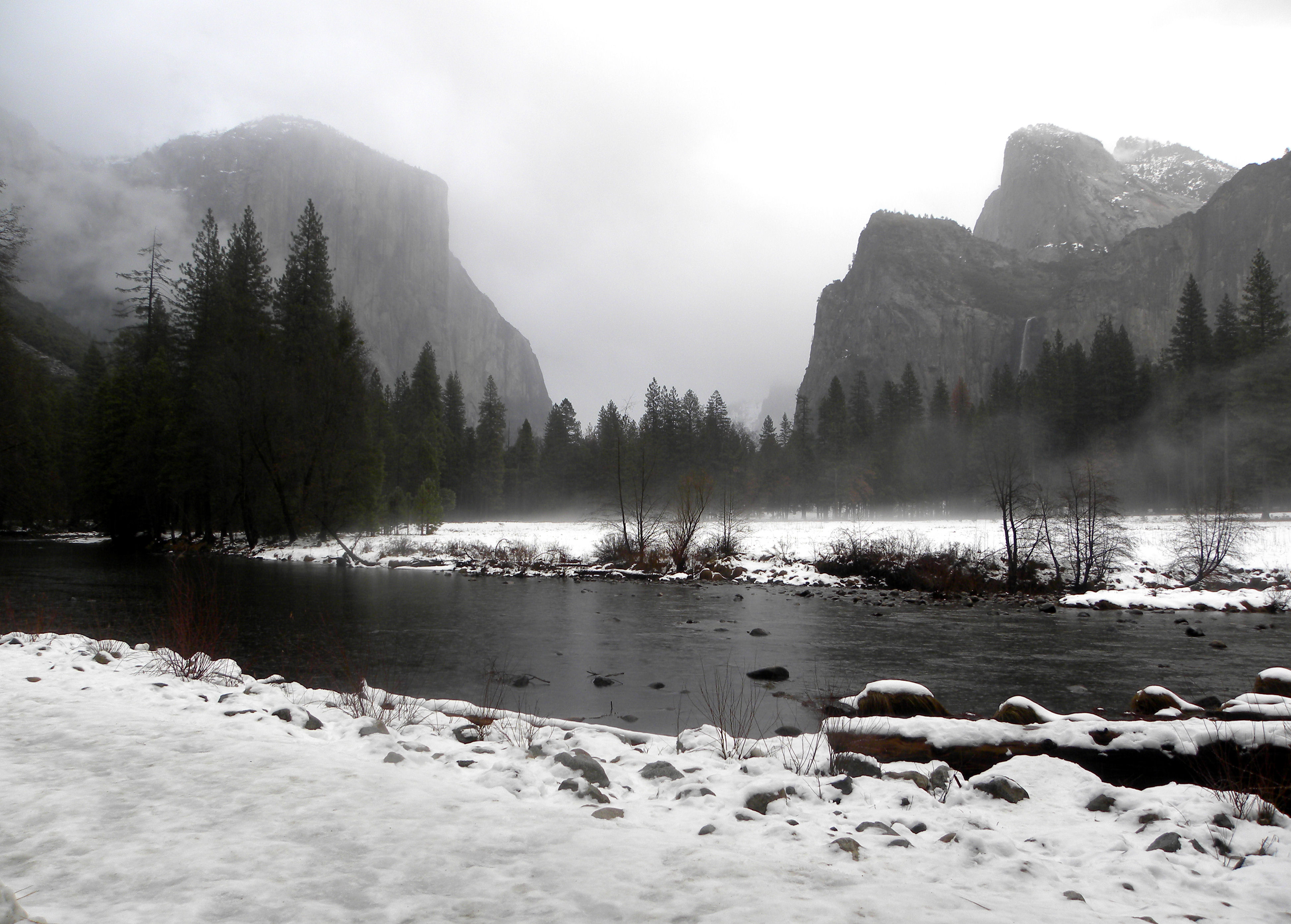 Winter In Yosemite National Park Lou Murray S Green World