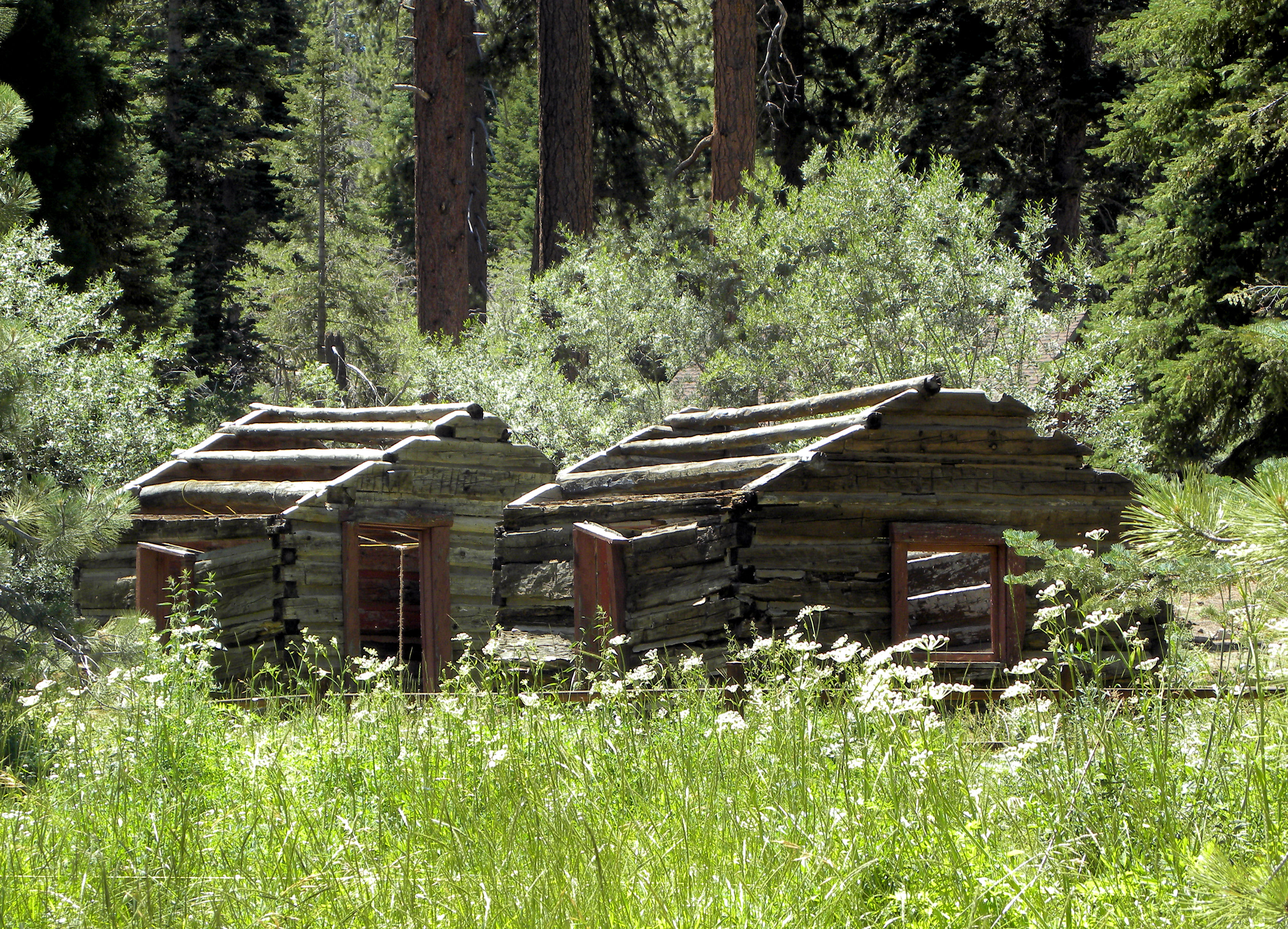 Old Log Cabins Hot Girls Wallpaper