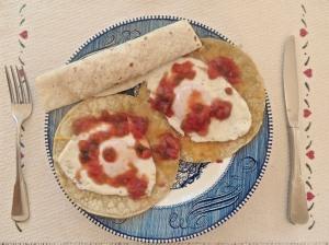 Huevos Rancheros for breakfast today