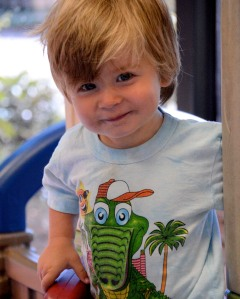 Our grandson Mike, who will be two in October
