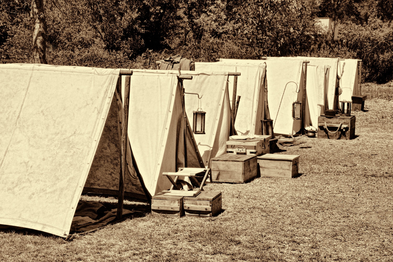 Civil War Tents : Civil war days in huntington beach central park labor day